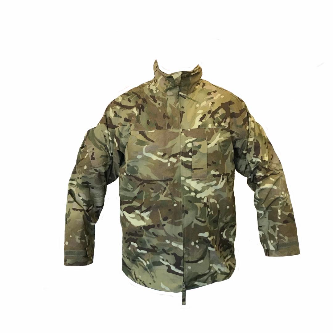 Multicam LIGHTWEIGHT Goretex Waterproof JACKET British Army Issue MTP