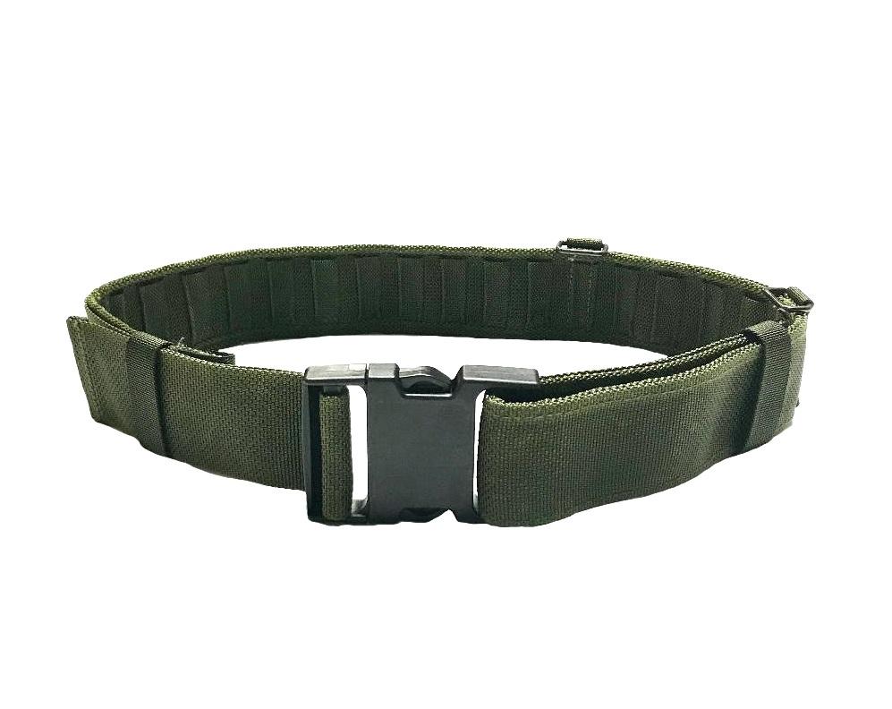 New /& unissued MOD issue Size large. Olive PLCE Belt